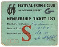 1971_Festival_Fringe_Club_Membership_Card